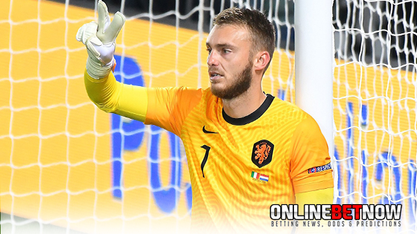 Netherlands goalkeeper out of final squad after testing positive for COVID