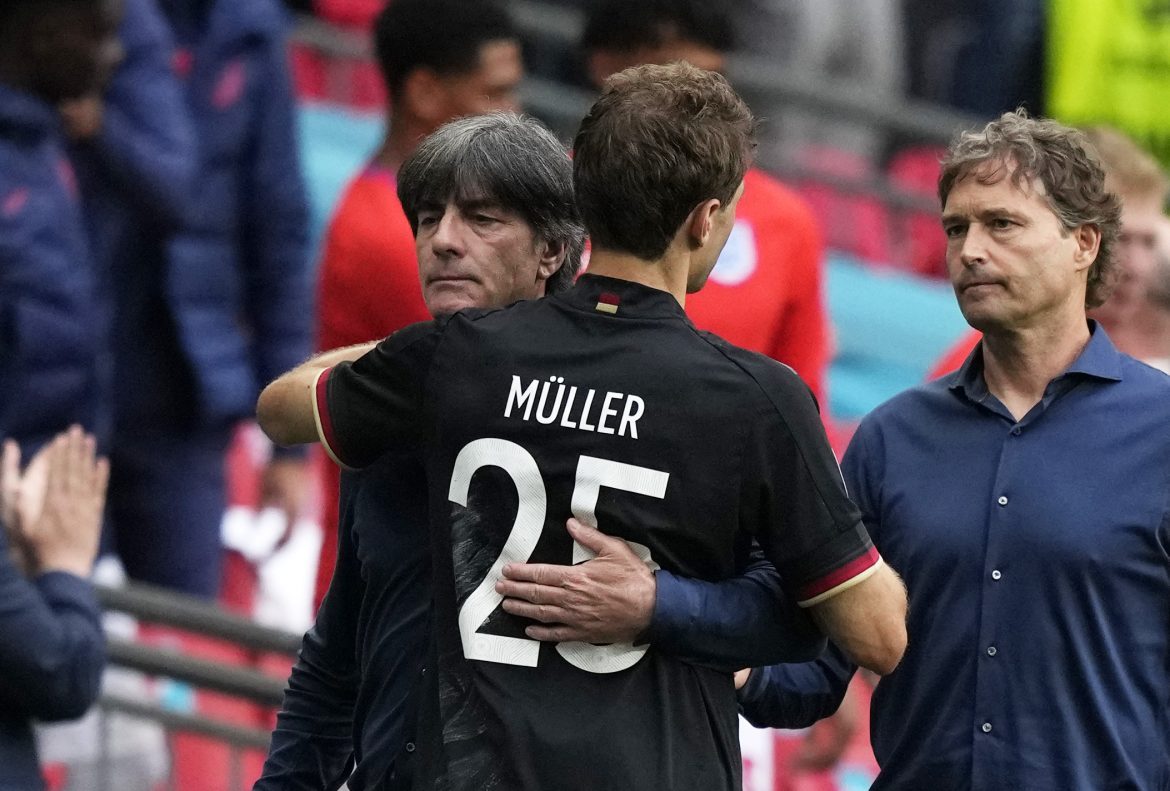 Germany stunned by England for the first time in 56 years